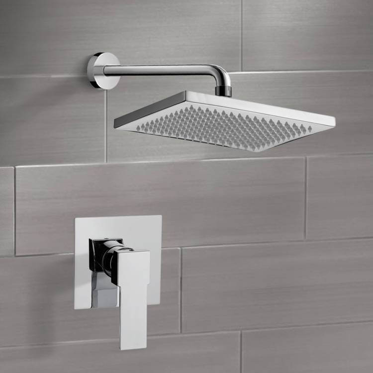 Shower Faucet, Remer SS1115-CR, Chrome Shower Faucet Set with 9.5