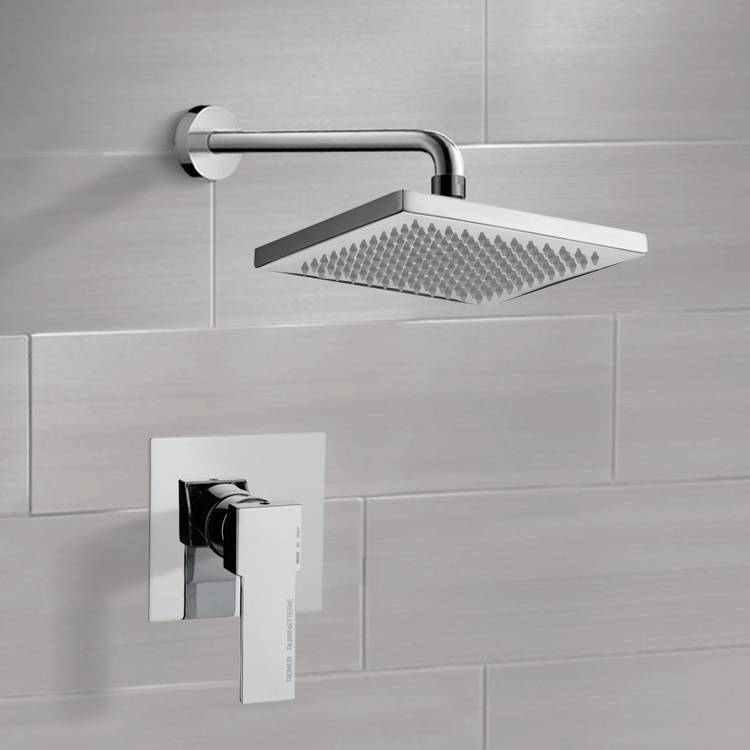 Shower Faucet, Remer SS1125, Shower Faucet Set with 8