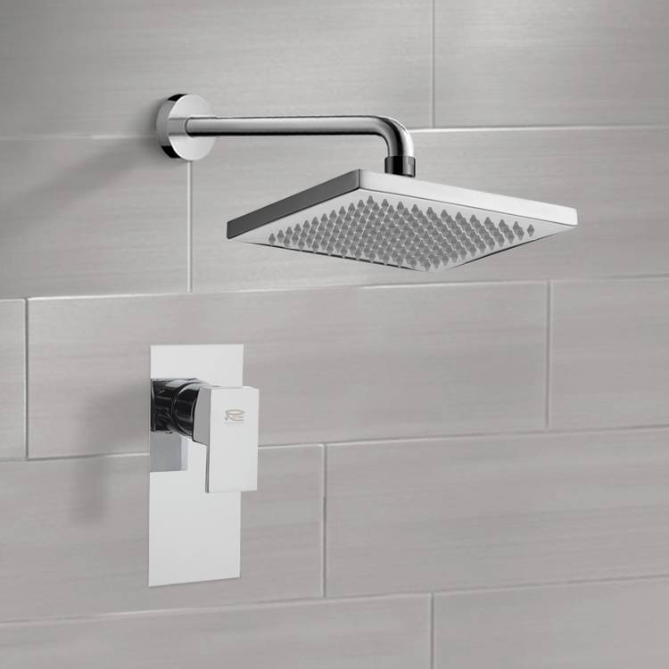 Shower Faucet Set with 8\