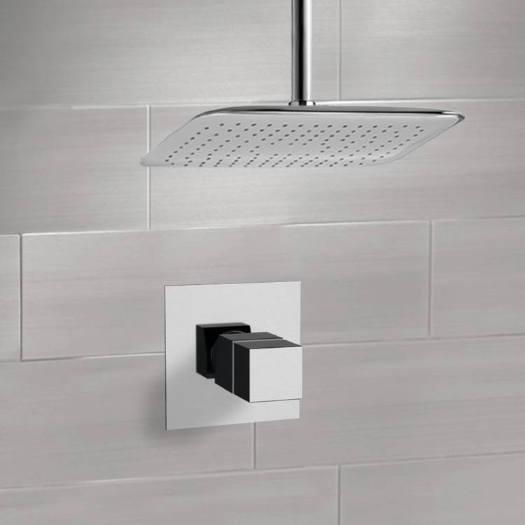 Remer SS1400 By Nameek\'s Mario Chrome Thermostatic Shower Faucet Set ...