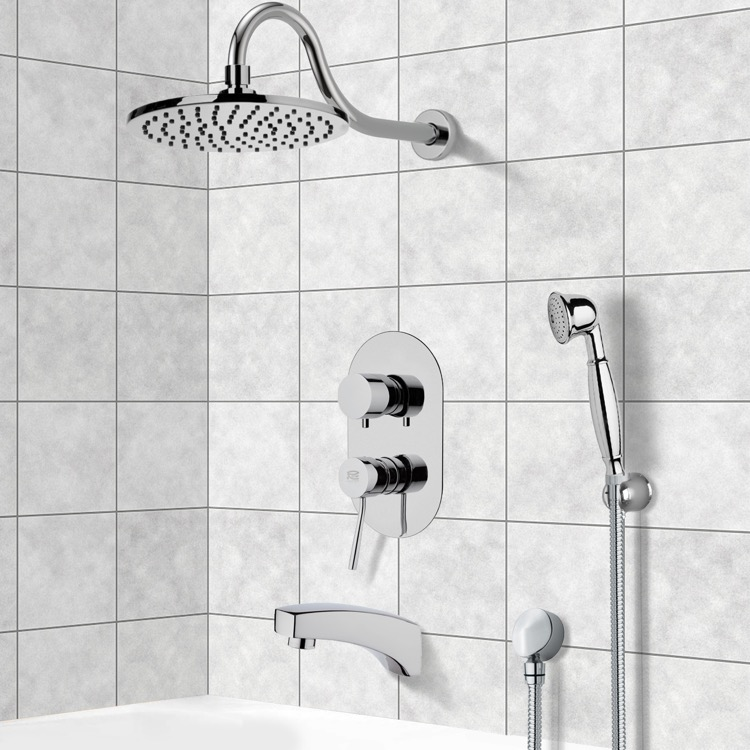 Remer TSH4535 By Nameek\'s Inverno Tub and Shower System with 8\