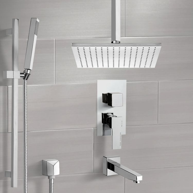 Remer Tsr9507 By Nameeks Estate Tub And Shower System With Ceiling