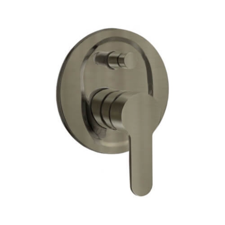 Diverter, Remer W09NP, Satin Nickel Wall Mounted Diverter