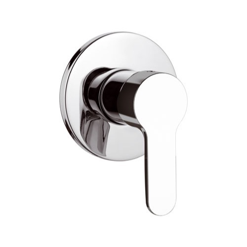 Mixer, Remer W30CR, Chrome Wall Mounted Shower Mixer