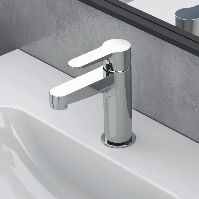 Bathroom Faucet, Remer W11, One Hole Bathroom Faucet In Multiple Finishes
