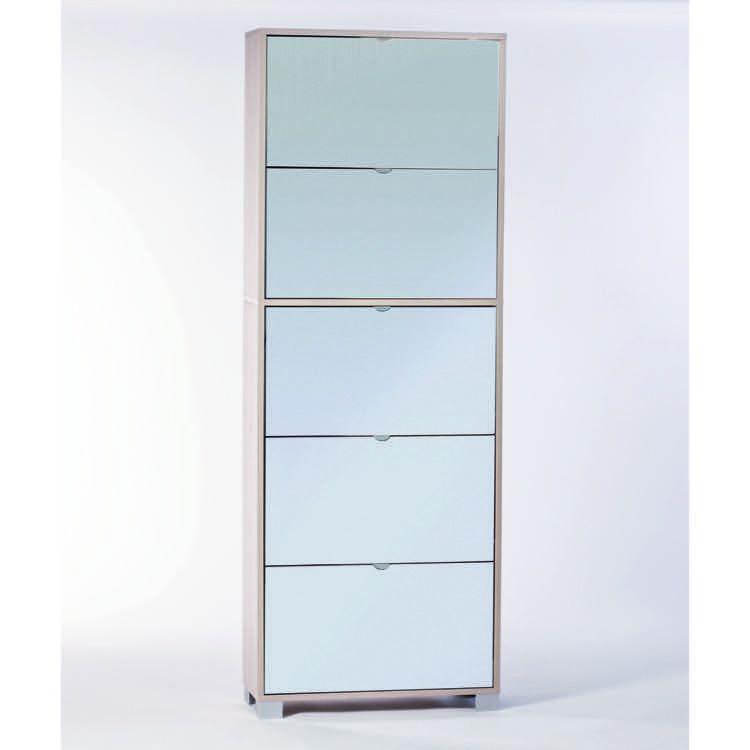 Shoe Rack Sarmog A765sp Clear Elm With 5 Double