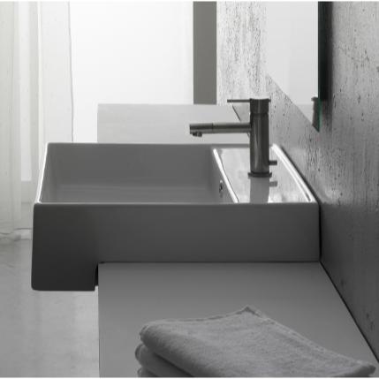 semi recessed bathroom sinks  thebathoutlet, Bathroom decor