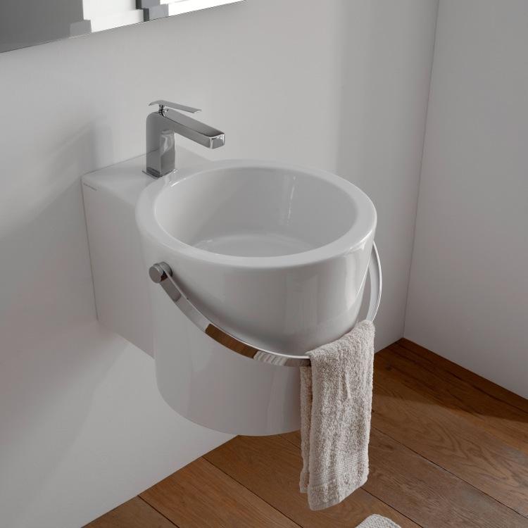. Scarabeo 8802 Bathroom Sink  Bucket   Nameek s