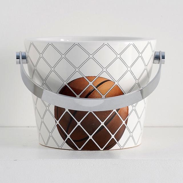 Basketball Hoop Bucket Bathroom