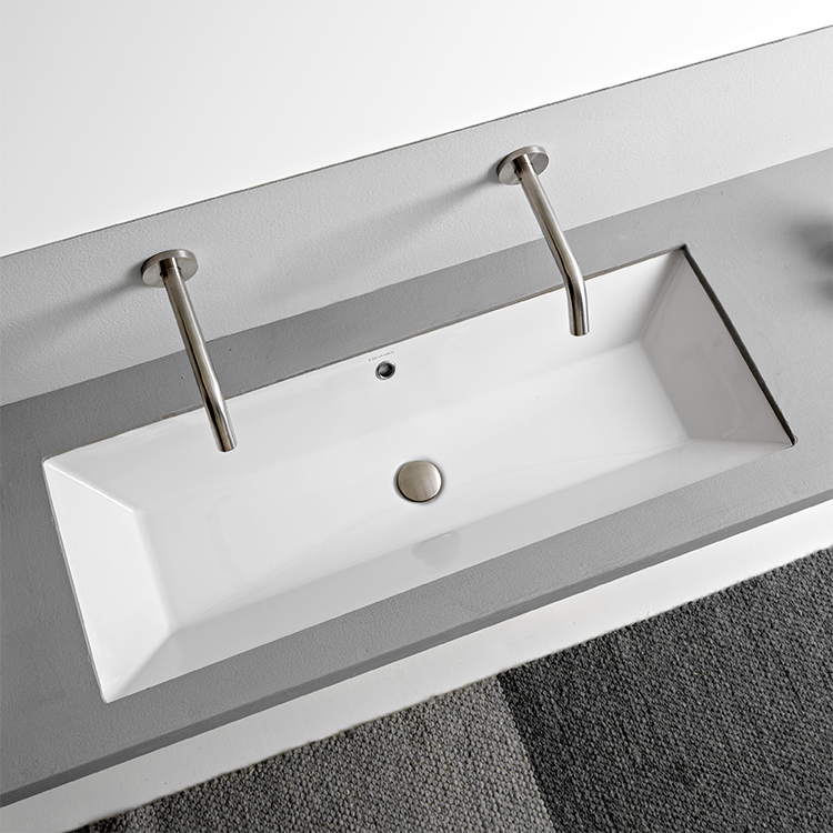 Bathroom Sinks Undermount Pedestal Amp More Bathroom Undermount Sinks Rectangular
