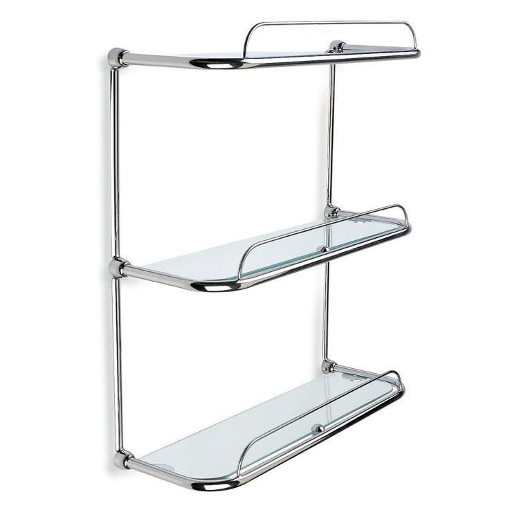 StilHaus 515 By Nameek\'s Shelves Triple Glass Bathroom Shelf ...