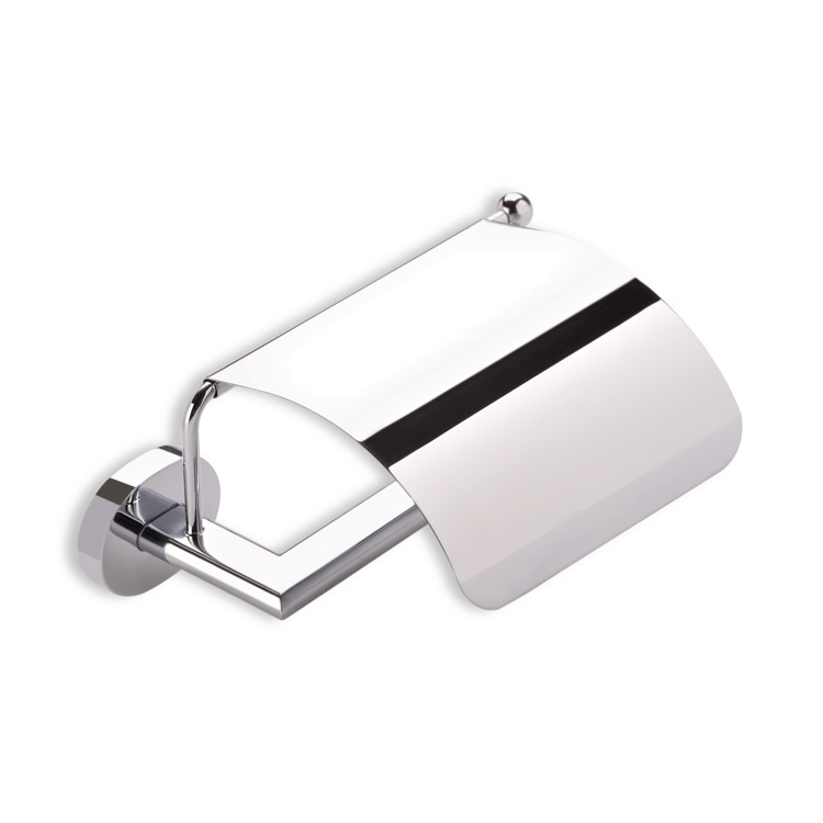 Toilet Paper Holder, StilHaus DI11C-08, Chrome Toilet Roll Holder with Cover