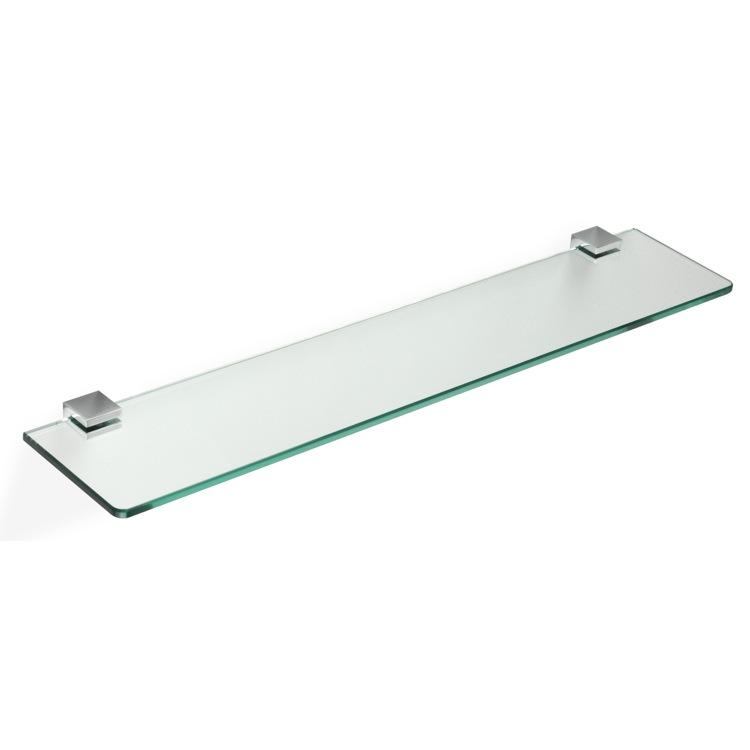 StilHaus GE04 By Nameek\'s Gea 24 Inch Glass Bathroom Shelf ...