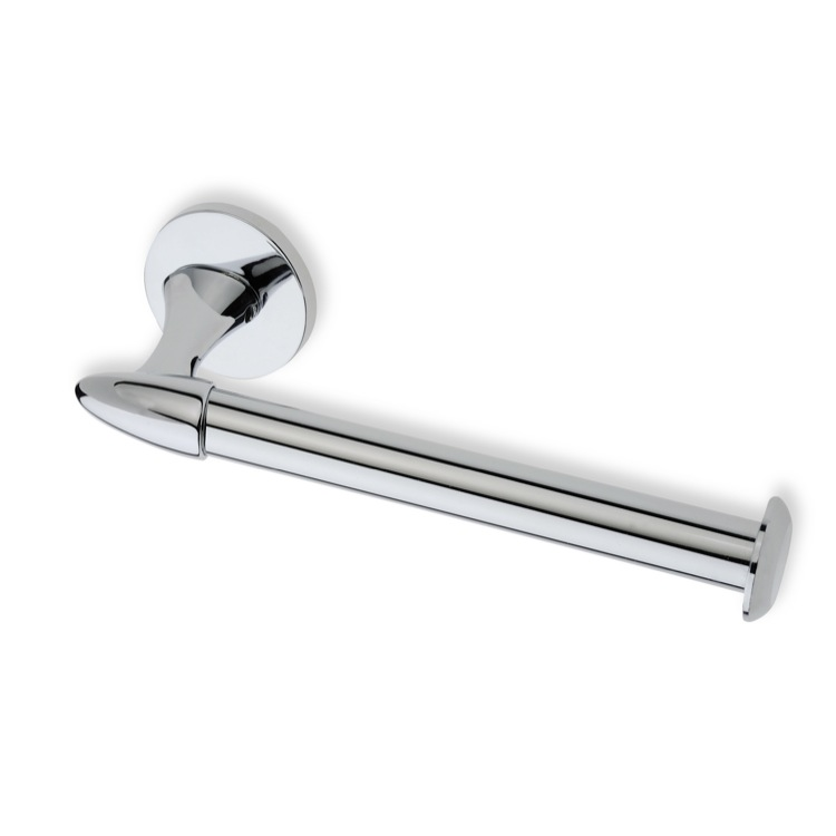 Toilet Paper Holder, StilHaus H11-08, Chrome Toilet Roll Holder
