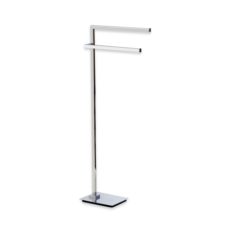 towel holder stand countertop free standing towel stand stilhaus u19 by nameeks urania