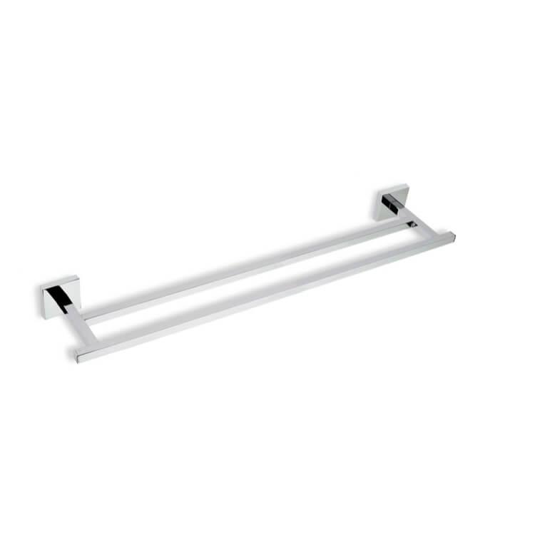 Chrome 22 Inch Double Br Towel Bar