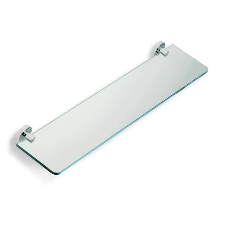 glass bathroom shelf. Bathroom Shelf Chrome Clear Glass StilHaus VE04 08 Shelves  TheBathOutlet com