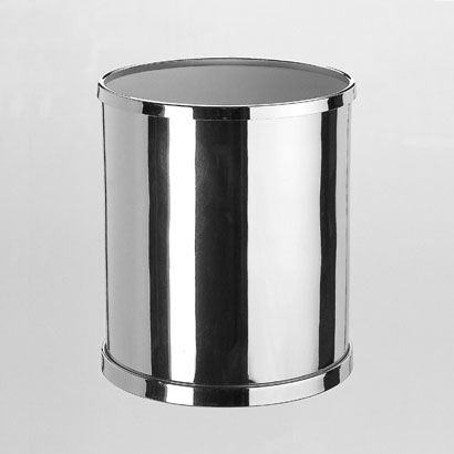 bathroom wastebasket. Waste Basket  Windisch 89102 Round Bathroom Bin in Brass By Nameek s Bath Bins