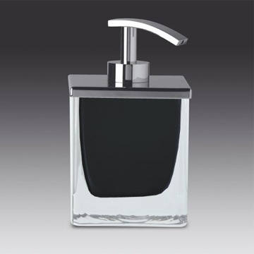 Windisch 90433 By Nameek S Fashion Crystal Square Black Or White Chrome Soap Dispenser Anthracite