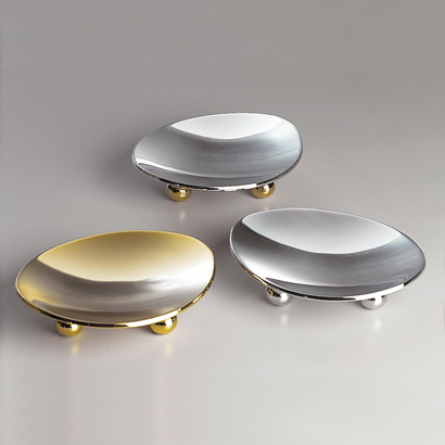 Windisch 93107 By Nameek S Fashion Crystal Round Contemporary Soap Dish Thebathoutlet