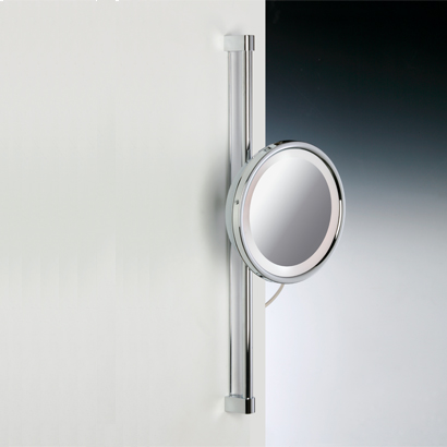 Makeup Mirror, Windisch 99182-CR-3x, Chrome or Gold Round Wall Mounted 3x or 5x Magnifying Mirror