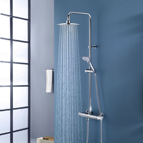 Remer Exposed Pipe Showers
