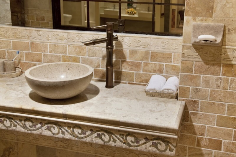 Include Gorgeous Stone Tiles In Your Bathroom Remodel