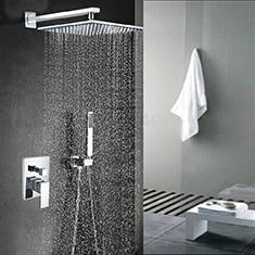 Shower Faucets with Handheld