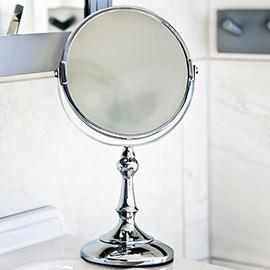 Chrome Makeup Mirrors
