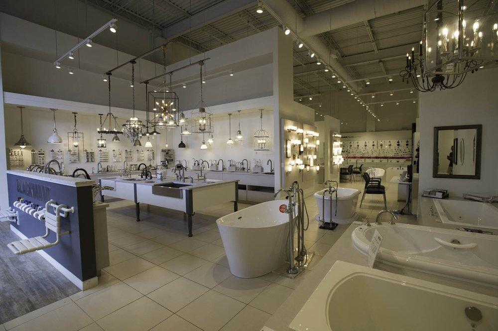 Blackman Plumbing Supply Showroom Photo