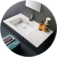 high-end bathroom sink