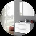 modern basthroom vanity