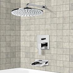 Rain Tub and Shower Faucets