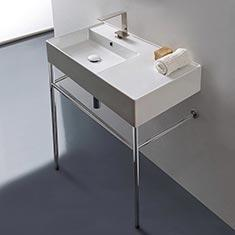 Scarabeo Console Sinks