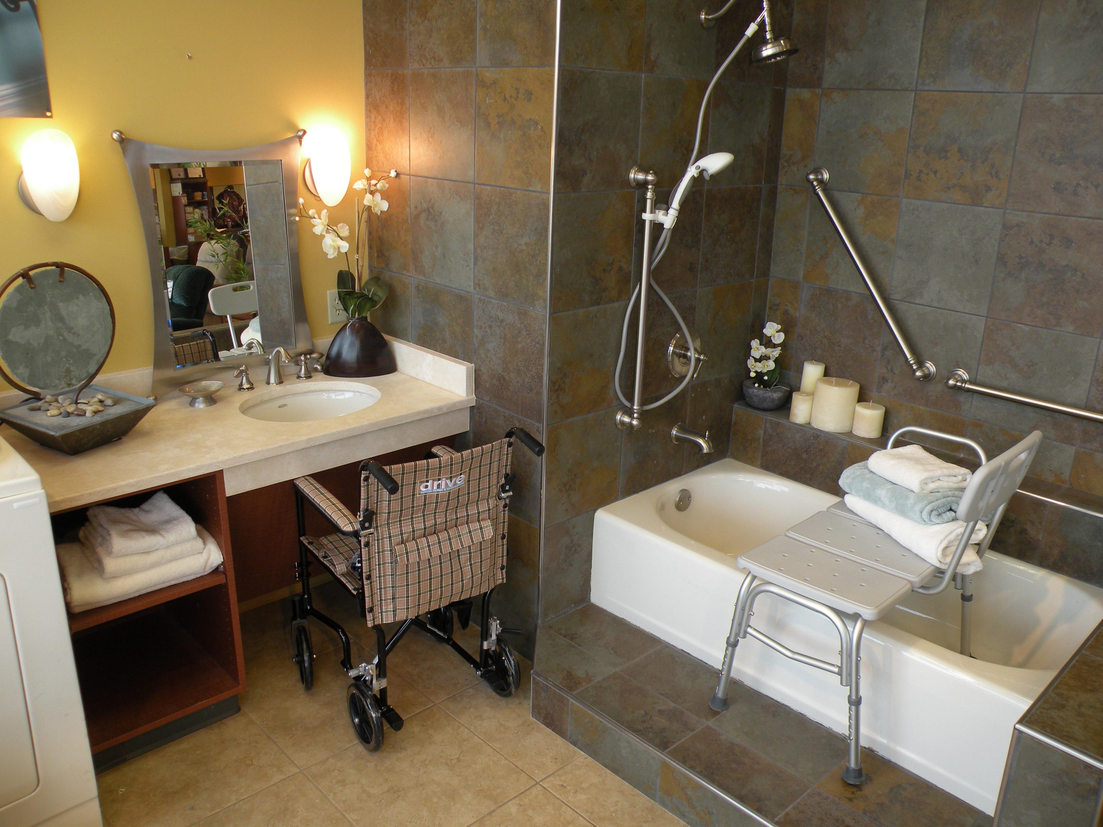 Bathroom for elderly