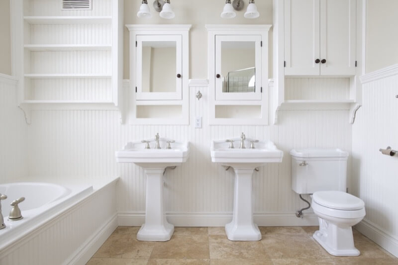 The Comeback of the Pedestal Sink