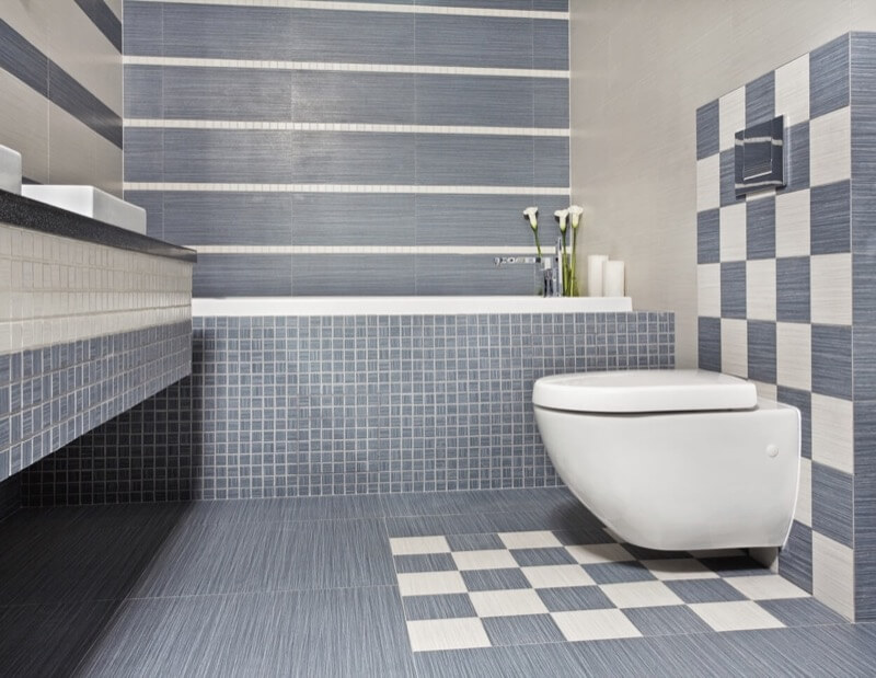 History of the Checkerboard Bathroom Design Element