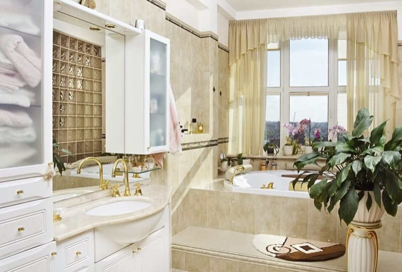 Adding Gold, Silver, and Bronze to Your Bathroom