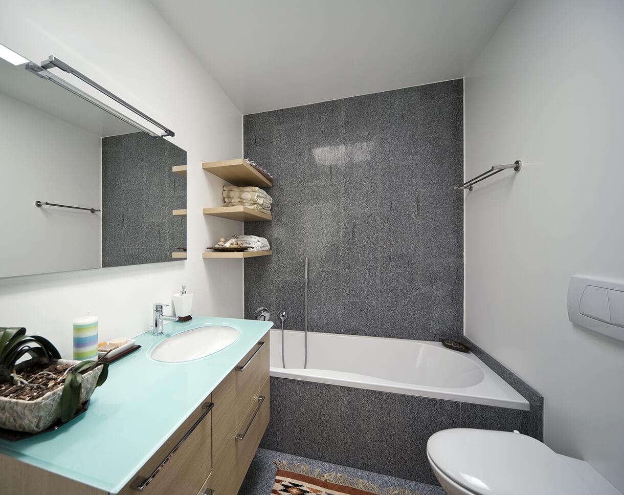 Стандартная ванна дизайн фото