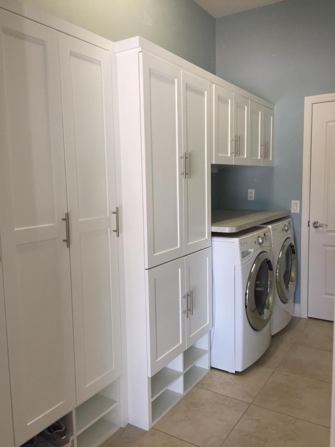 Brand new laundry/ mudroom in
