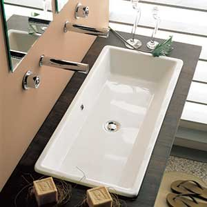 Drop In Bathroom Sinks