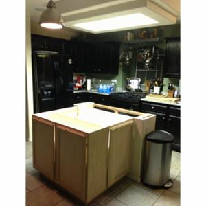 AFR Construction kitchen Remodel and island rebuild.