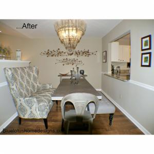 Blue Lotus Home Designs Commercial and residential interior make overs, occupied home staging